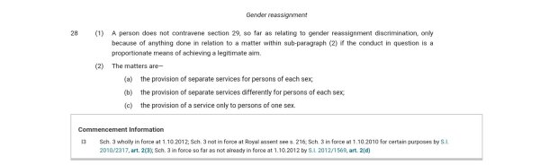 equality act section