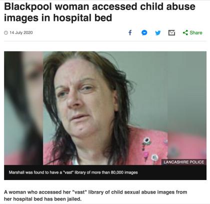 blackpool woman
